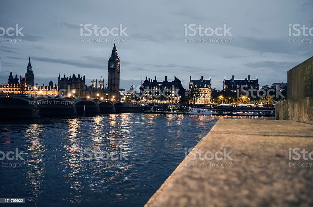 london city of westminster skyline royalty-free stock photo