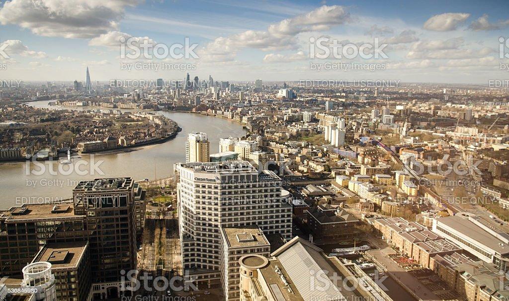 London cityscape stock photo