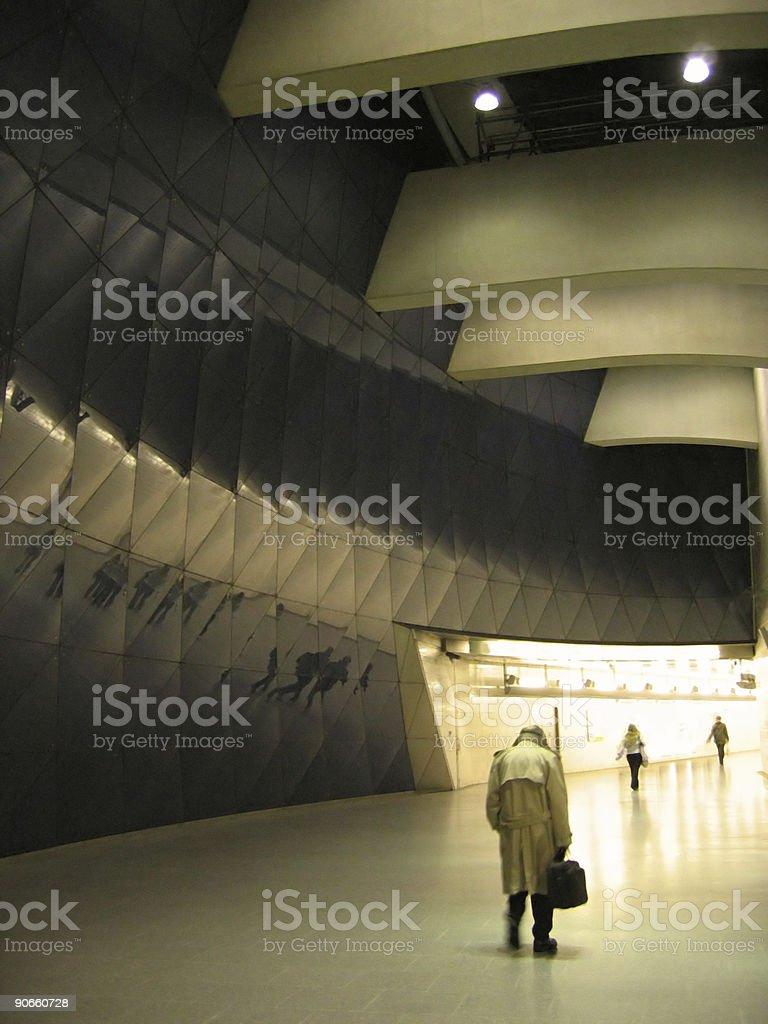 london commuter underground subway uk royalty-free stock photo