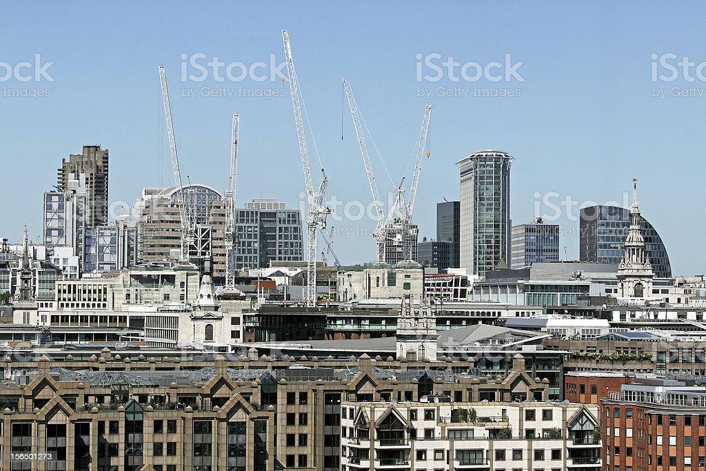 London construction royalty-free stock photo