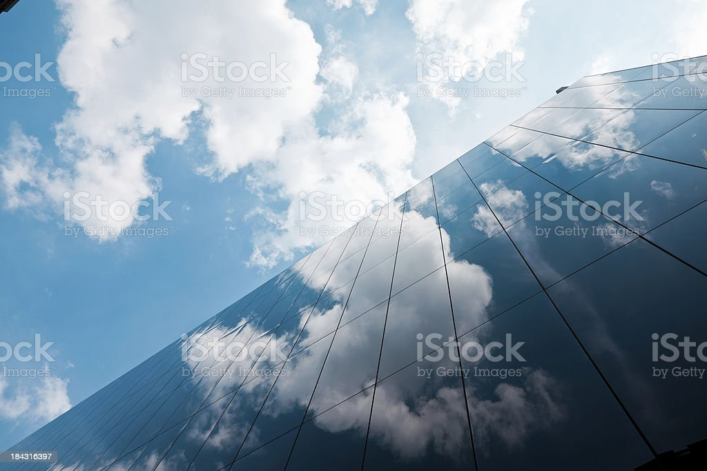 London Corporate Buildings stock photo