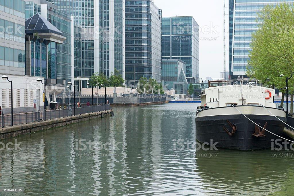 London, Docklands stock photo