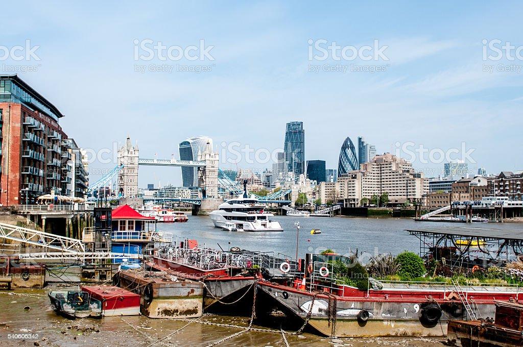 London England City Scape stock photo