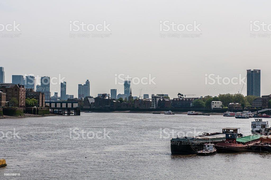London England Embankment stock photo