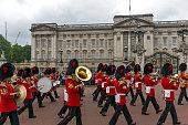 London, England - June 17 2016: British Royal guards