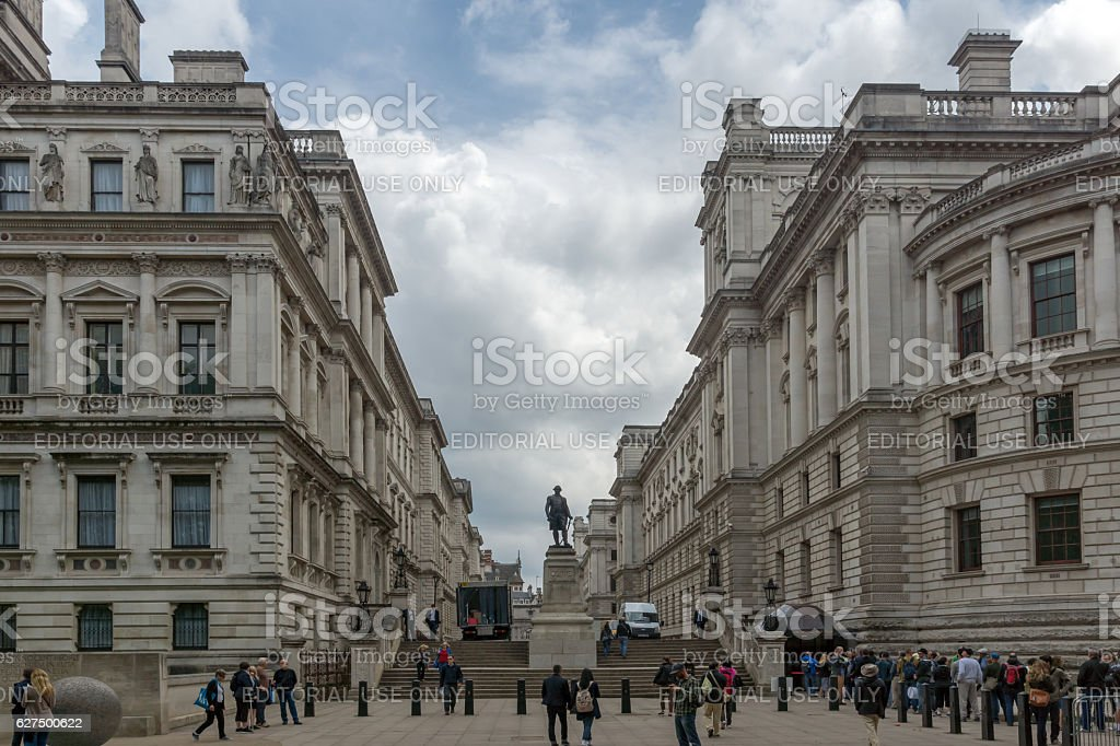 London, England - June 17 2016: Churchill War Rooms stock photo
