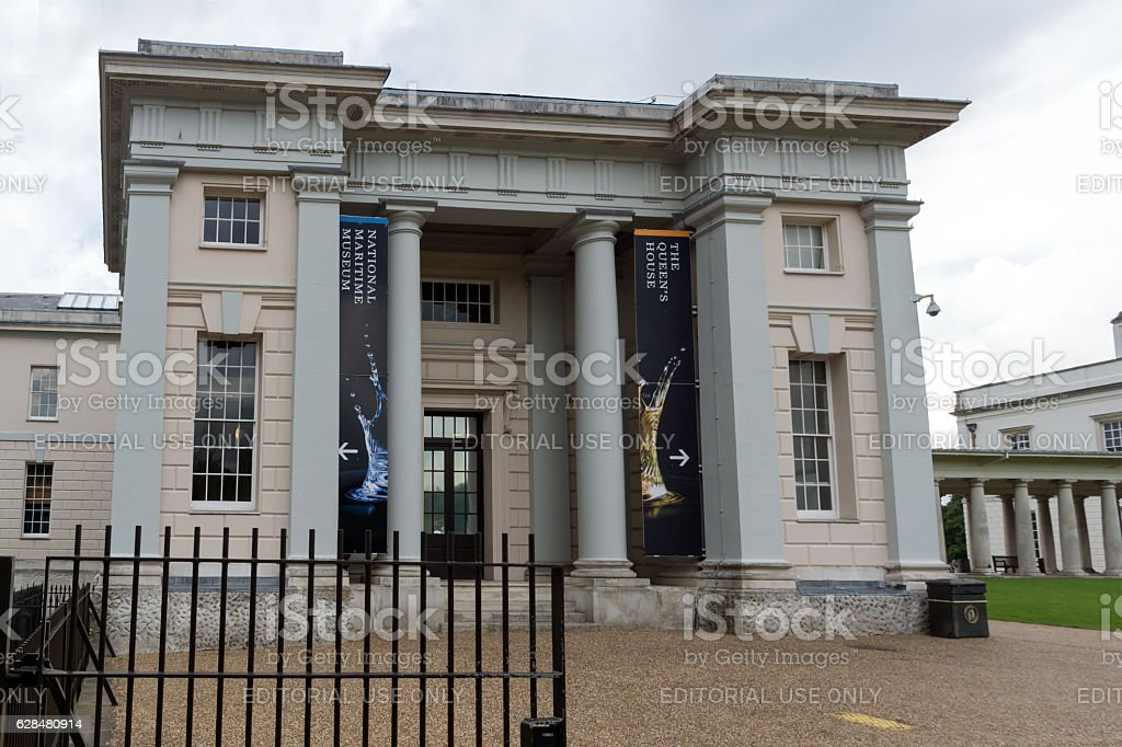London, England, June 17 2016: National Maritime Museum in Greenwich stock photo