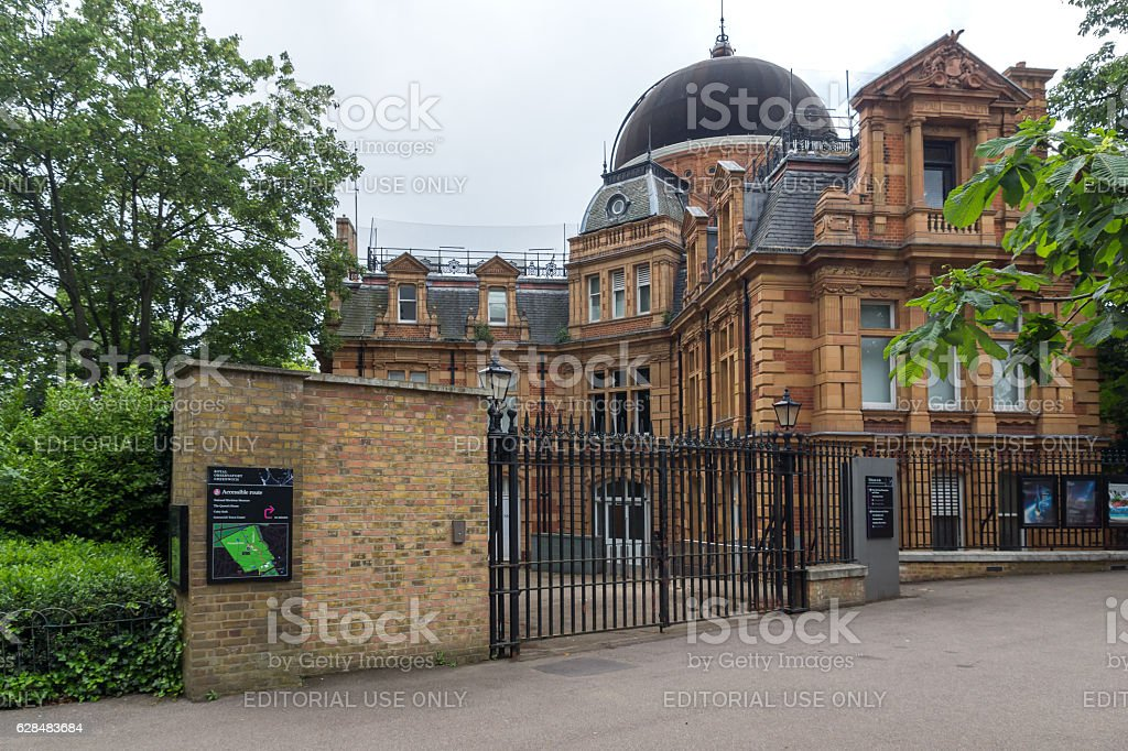 London, England - June 17 2016: Royal Observatory in Greenwich stock photo