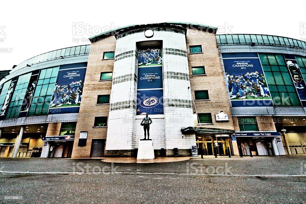 London, England - March 24, 2013 - Stamford Bridge, Chelsea FC stock photo