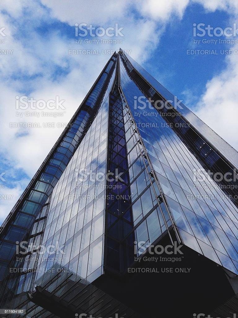 London, England Office Building stock photo