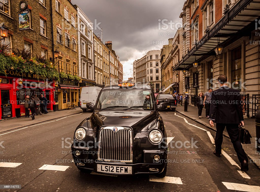 London - English street scene stock photo