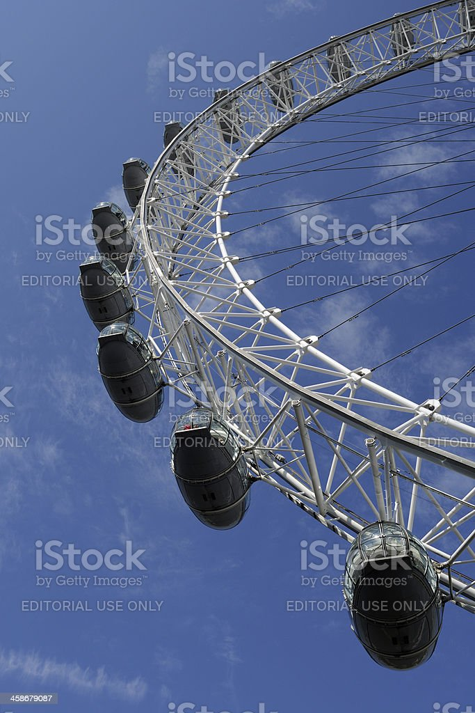 London Eye royalty-free stock photo