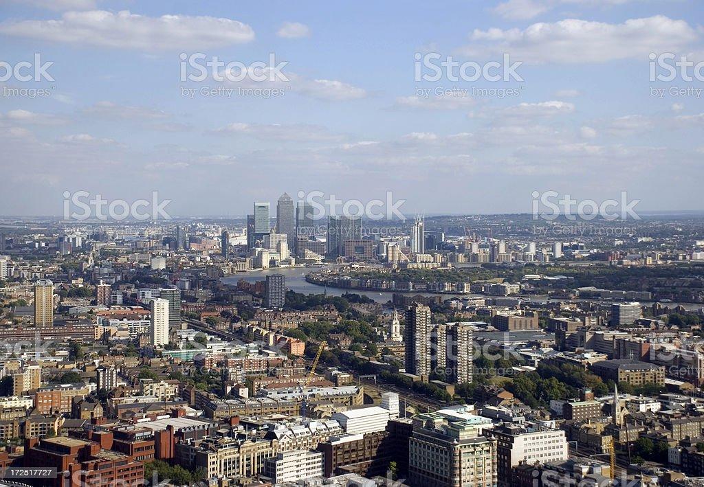 London finance district royalty-free stock photo