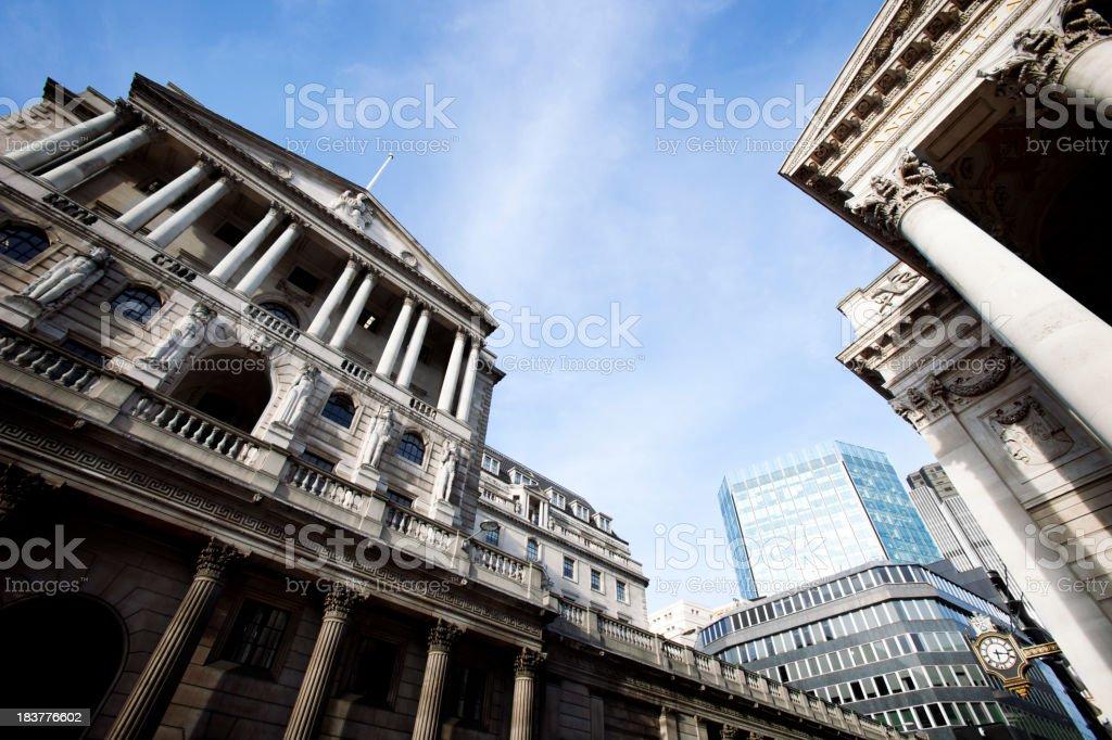 London finance royalty-free stock photo