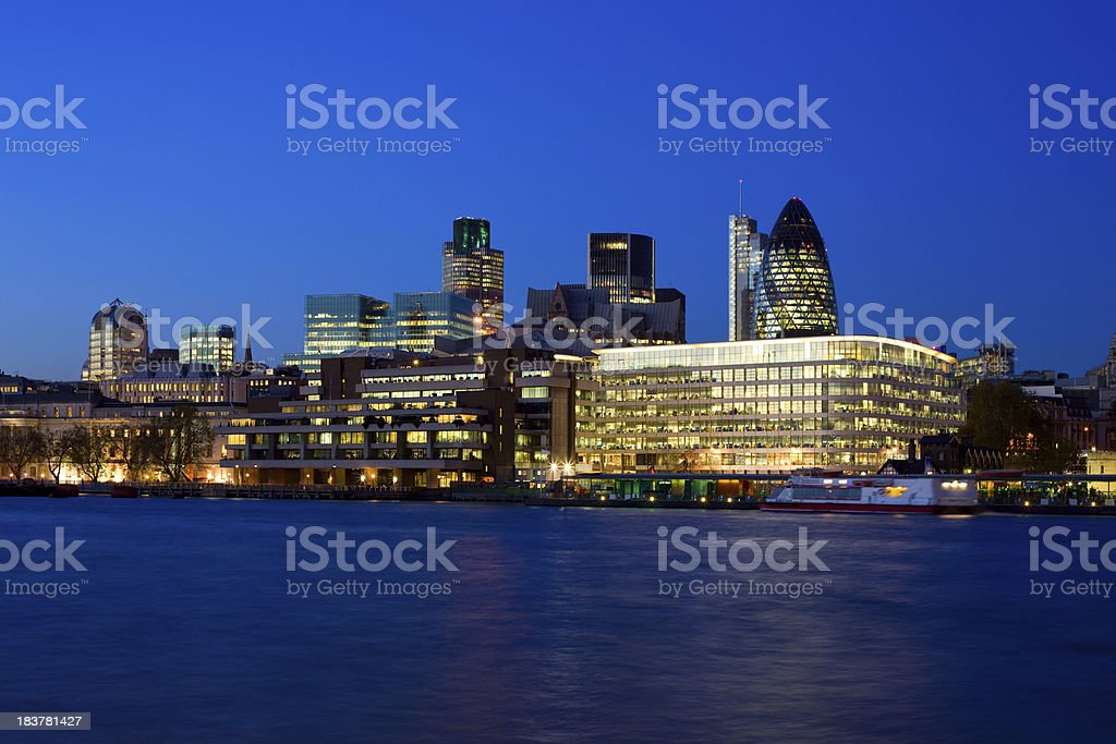 'London Financial District, England, UK' stock photo