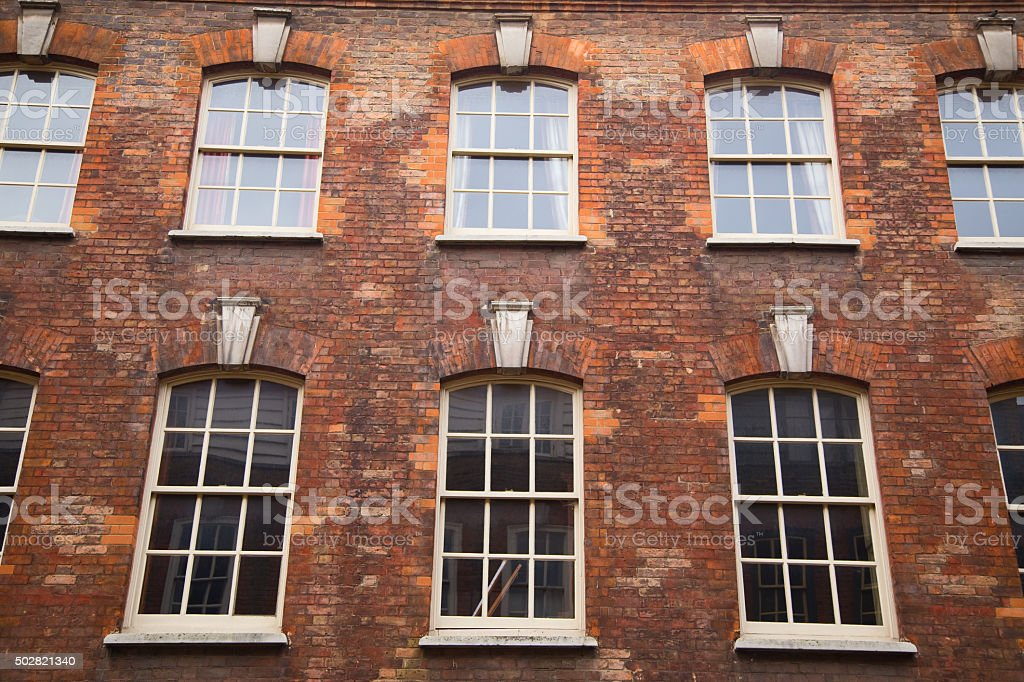 london homes stock photo