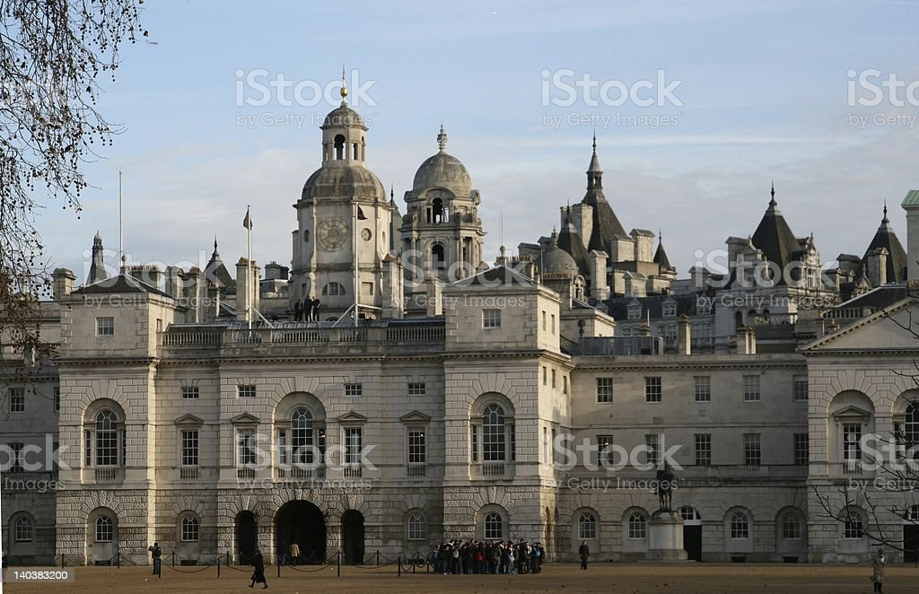 London Horse guarde parade royalty-free stock photo