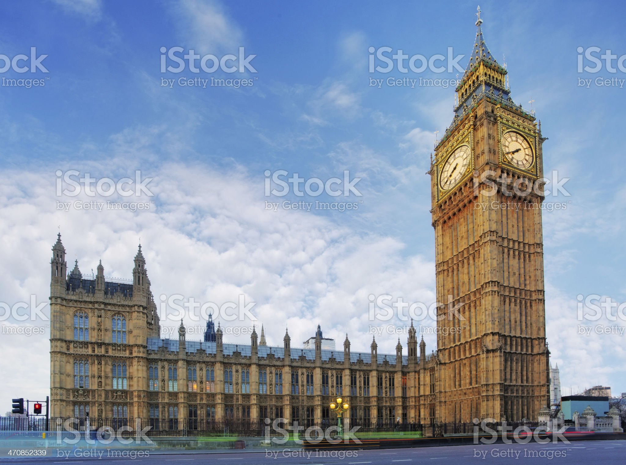 London - House of Parliament, Big Ben royalty-free stock photo