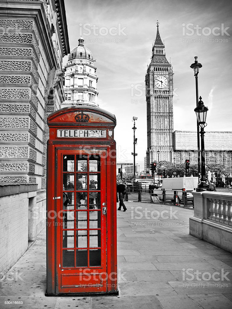 London impression stock photo