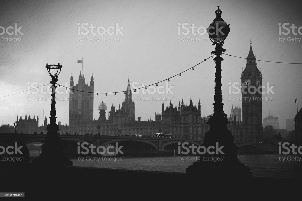 London in april stock photo