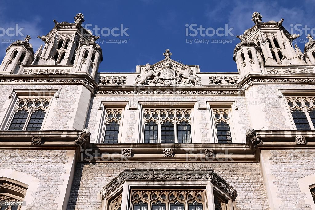 London King's College stock photo