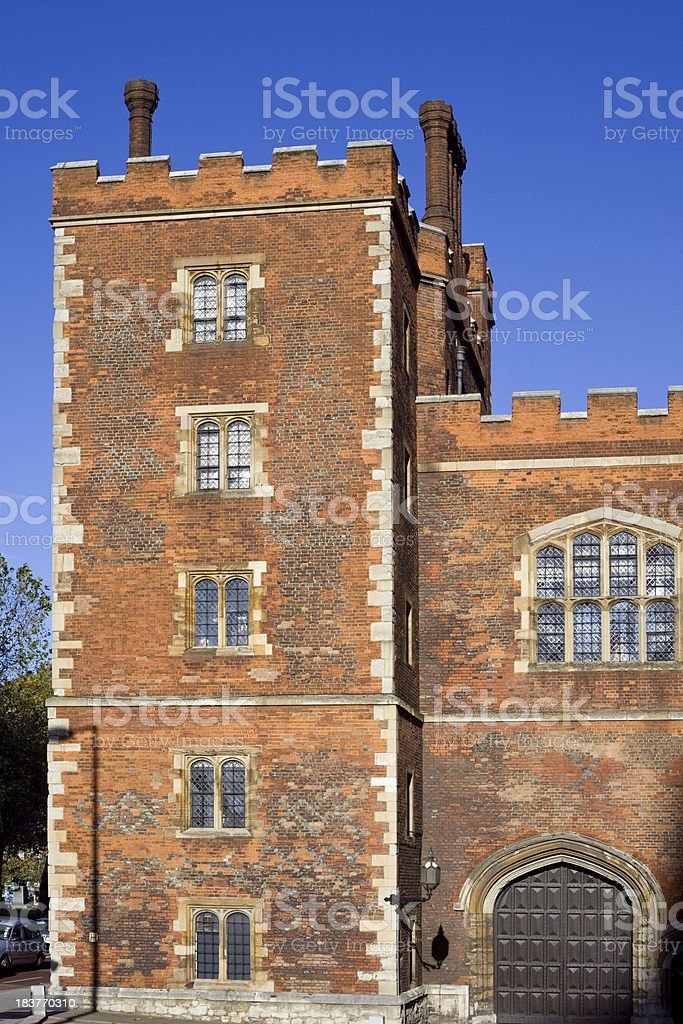 London, Lambeth Palace, England, UK royalty-free stock photo