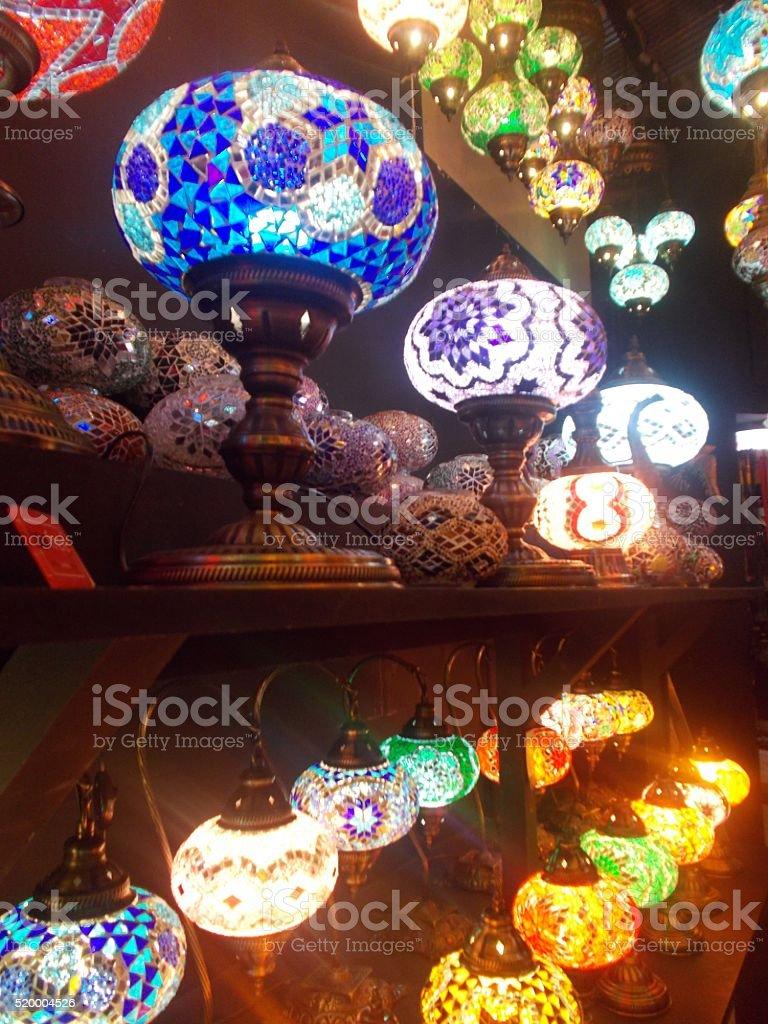 london - lights in camden town stock photo