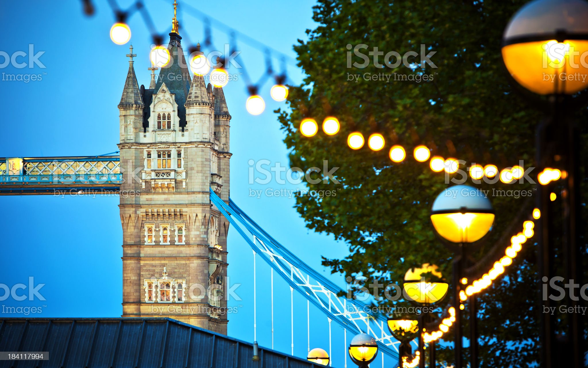 London Lights royalty-free stock photo
