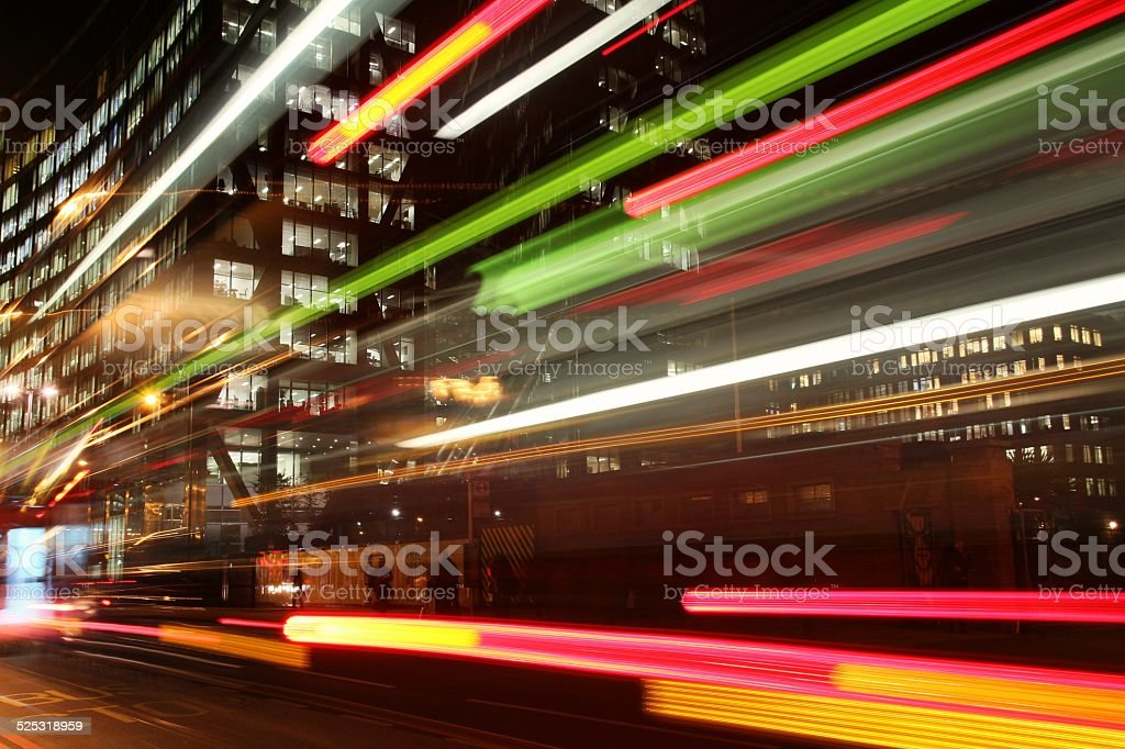 London  : Liverpool Street buildings stock photo