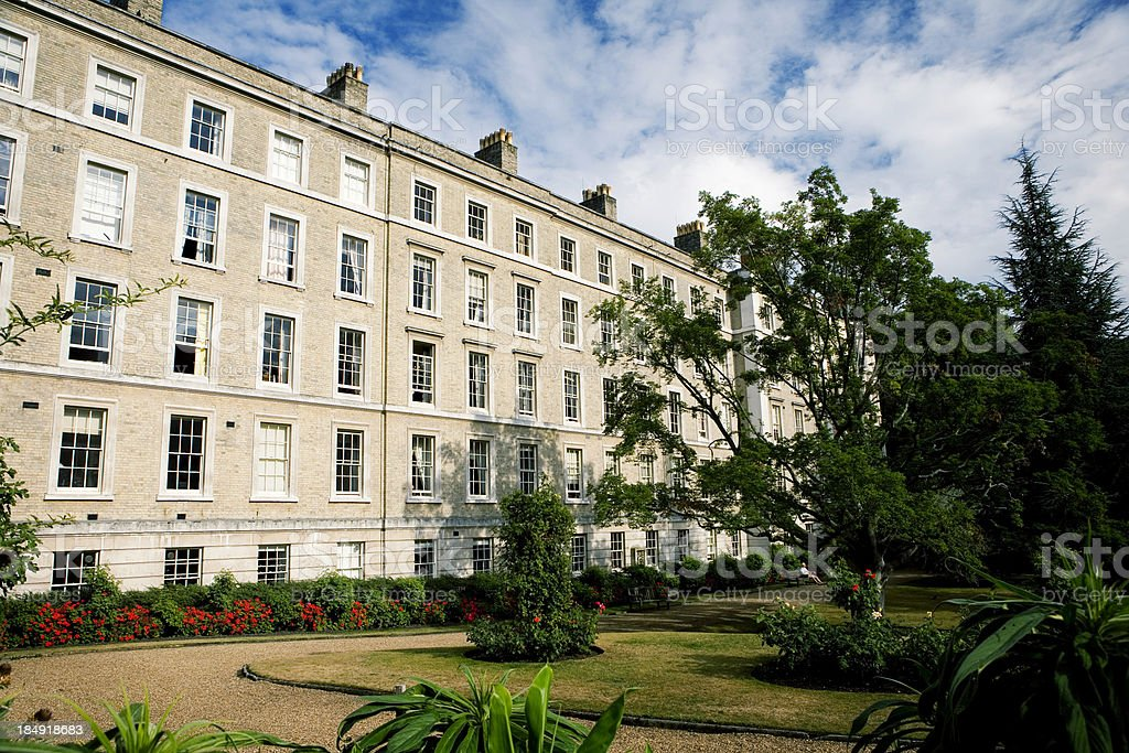 London mansions royalty-free stock photo