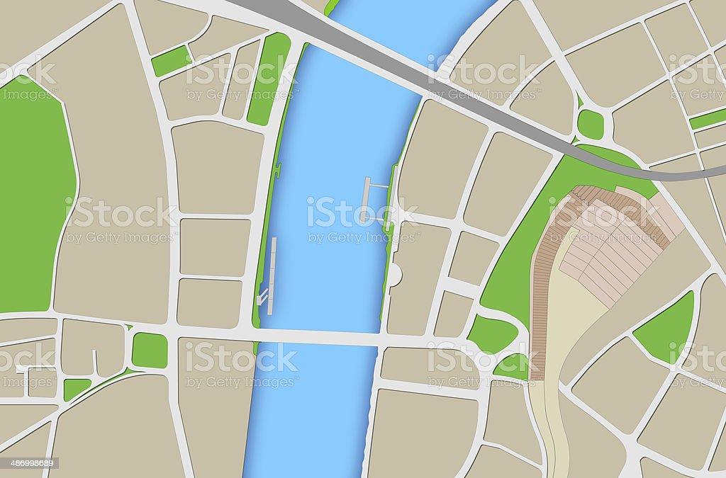 London Map stock photo