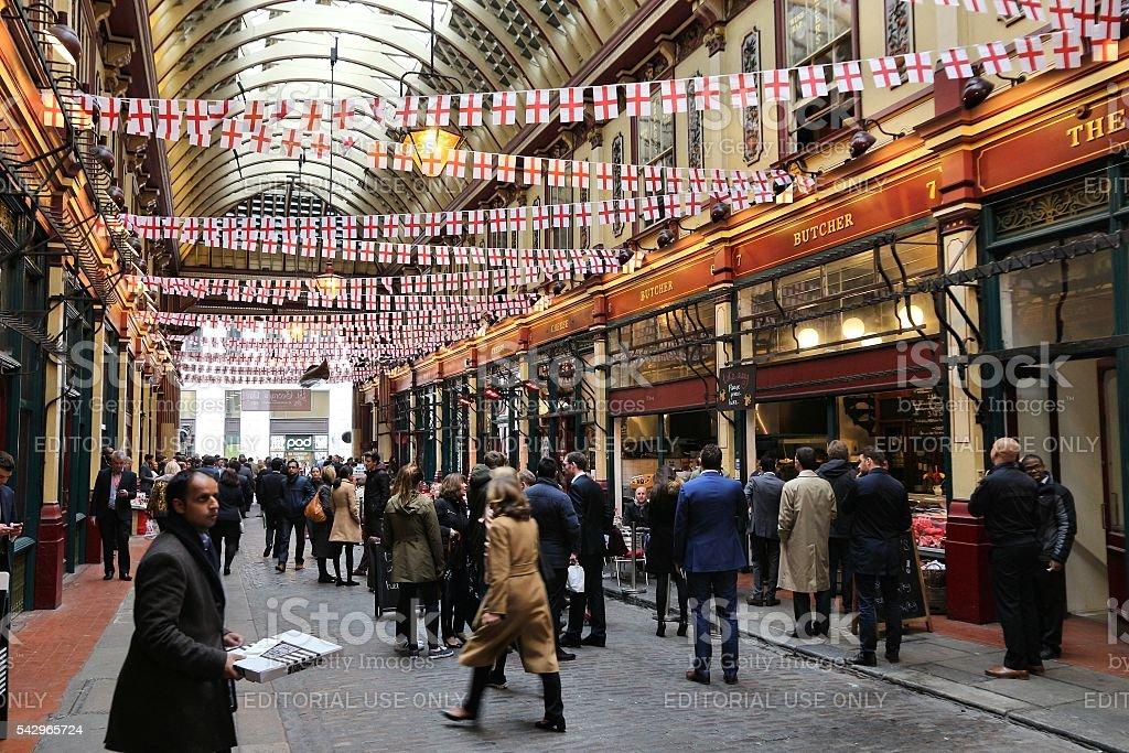 London market stock photo