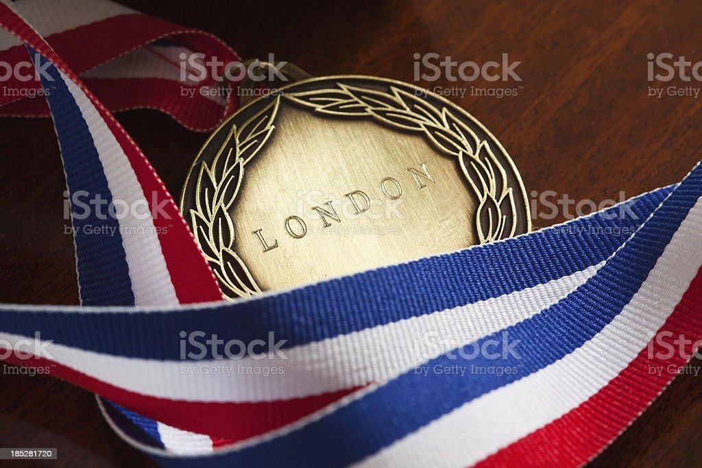 London Medal royalty-free stock photo