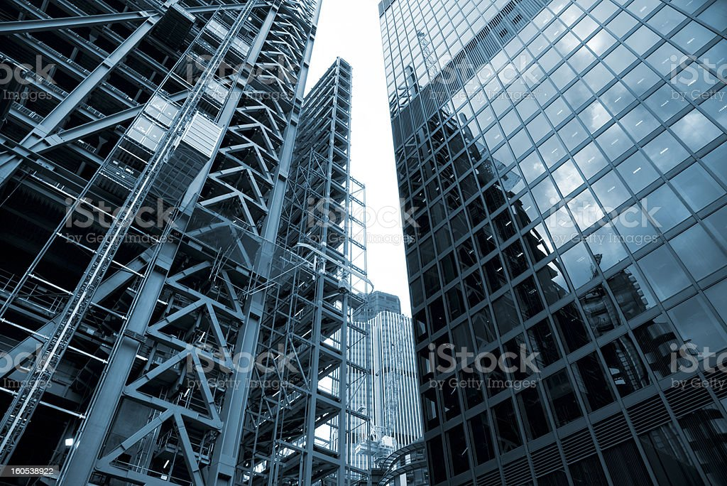 London New Tower construction project royalty-free stock photo