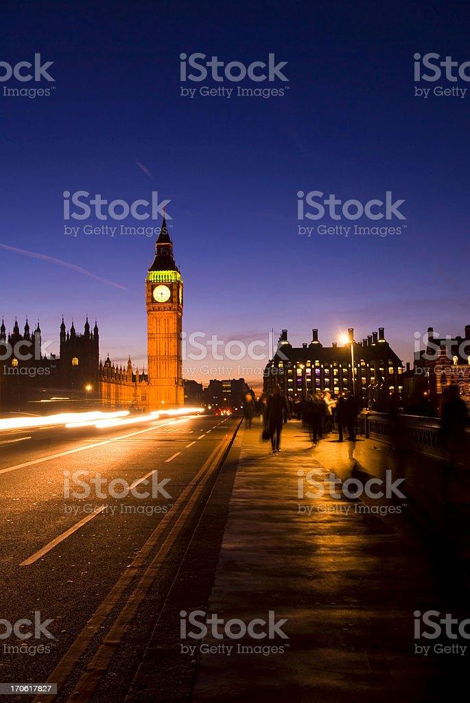 London Night royalty-free stock photo