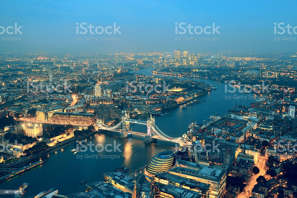 London night stock photo