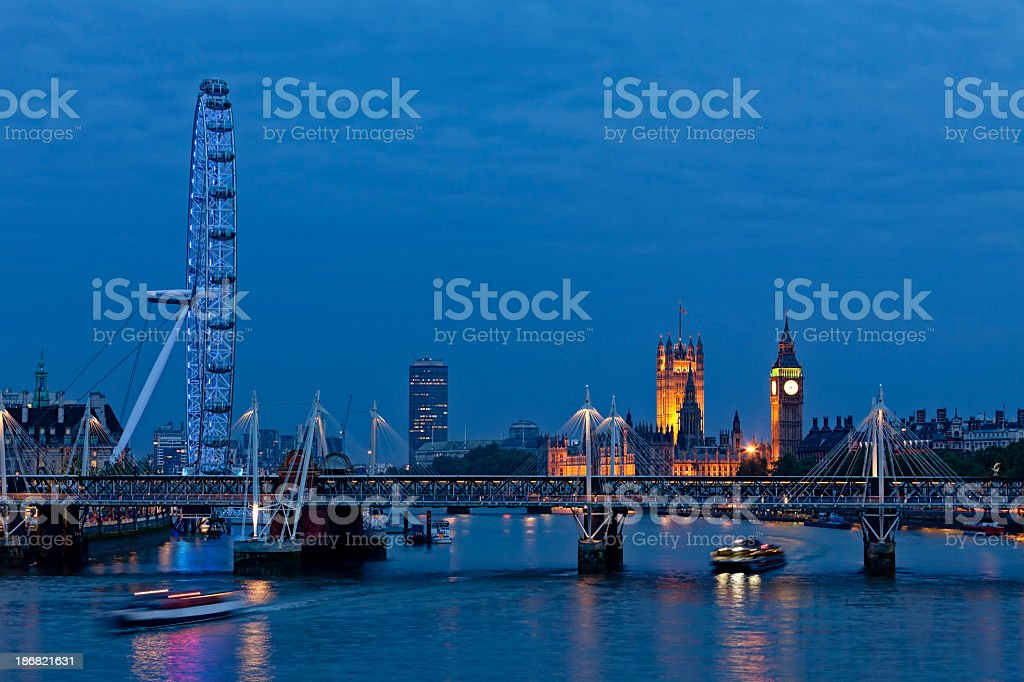 London Nights royalty-free stock photo