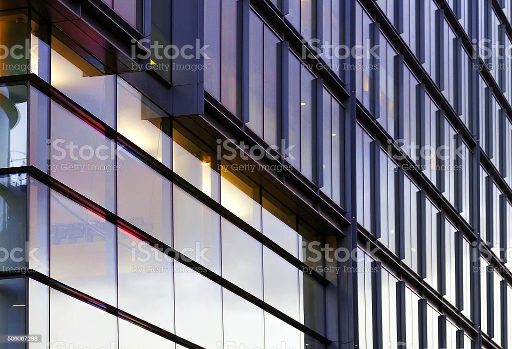 London office business building stock photo