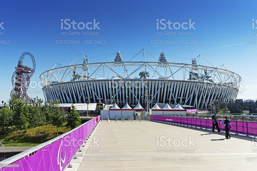 London Olympic Park stock photo