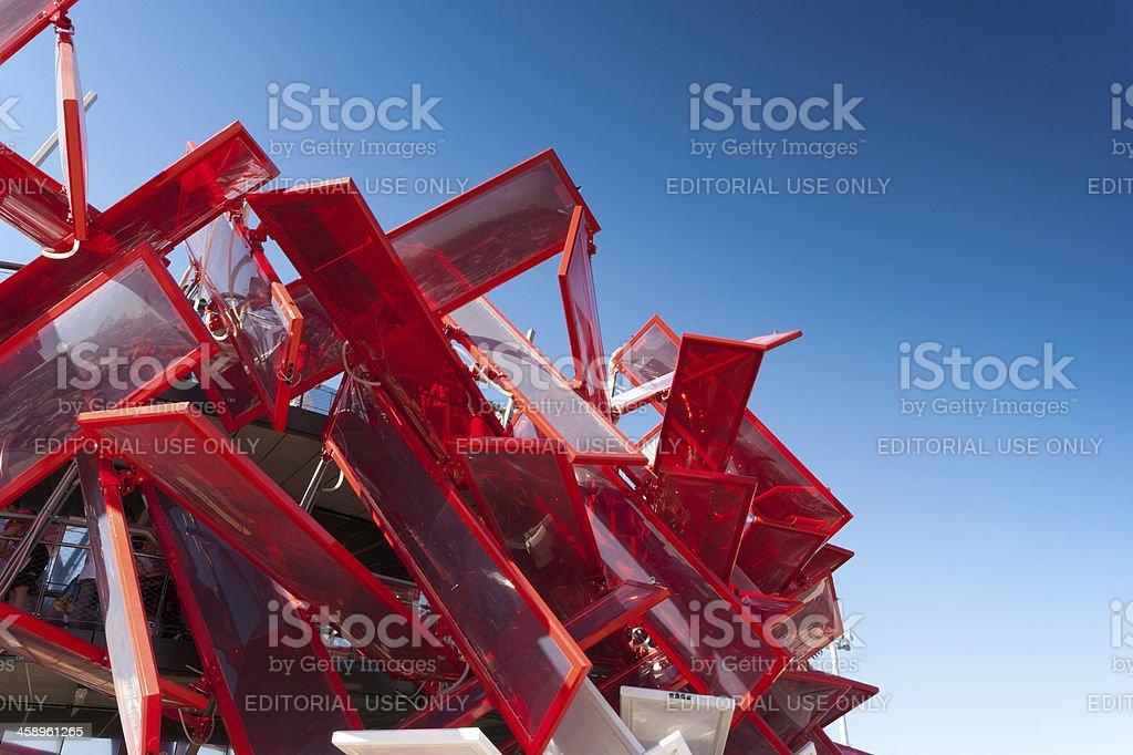 London Olympic Park stock photo