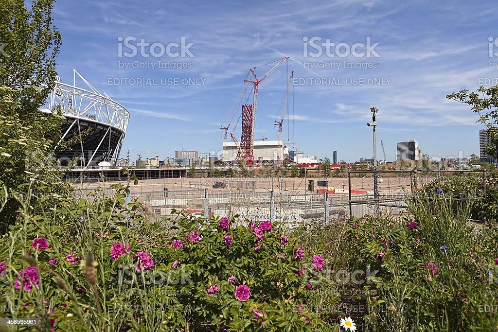 London Olympics stock photo