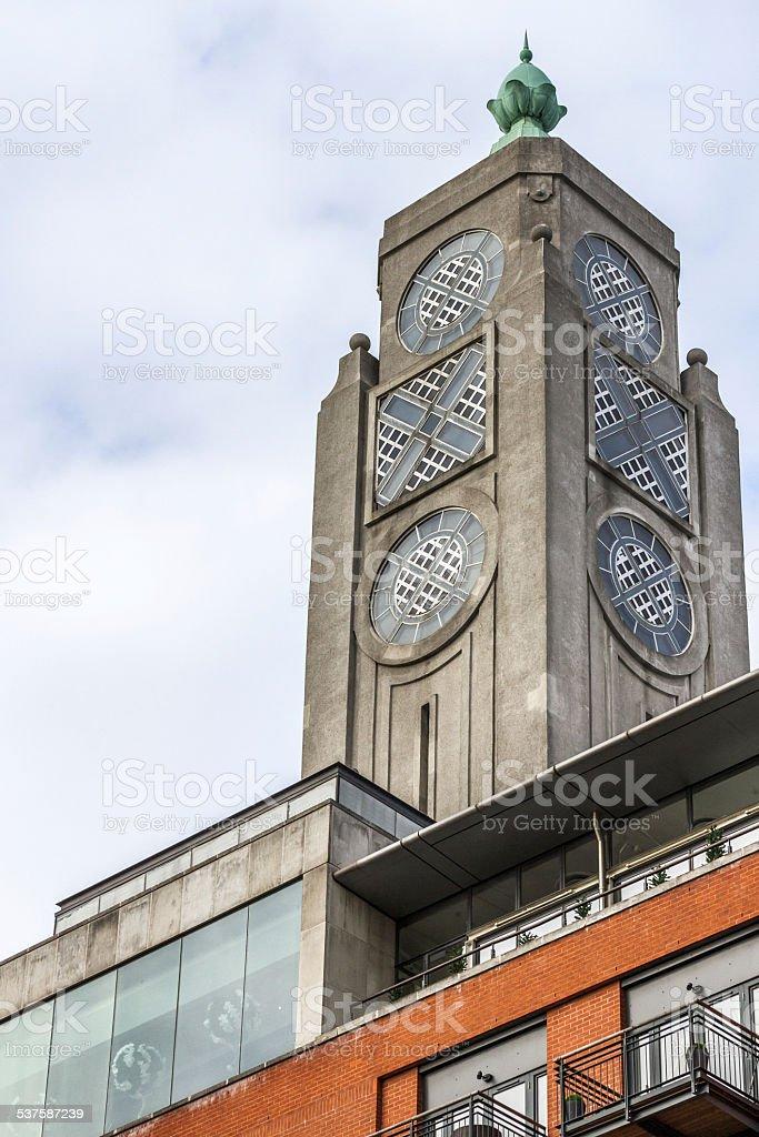 London OXO Tower stock photo
