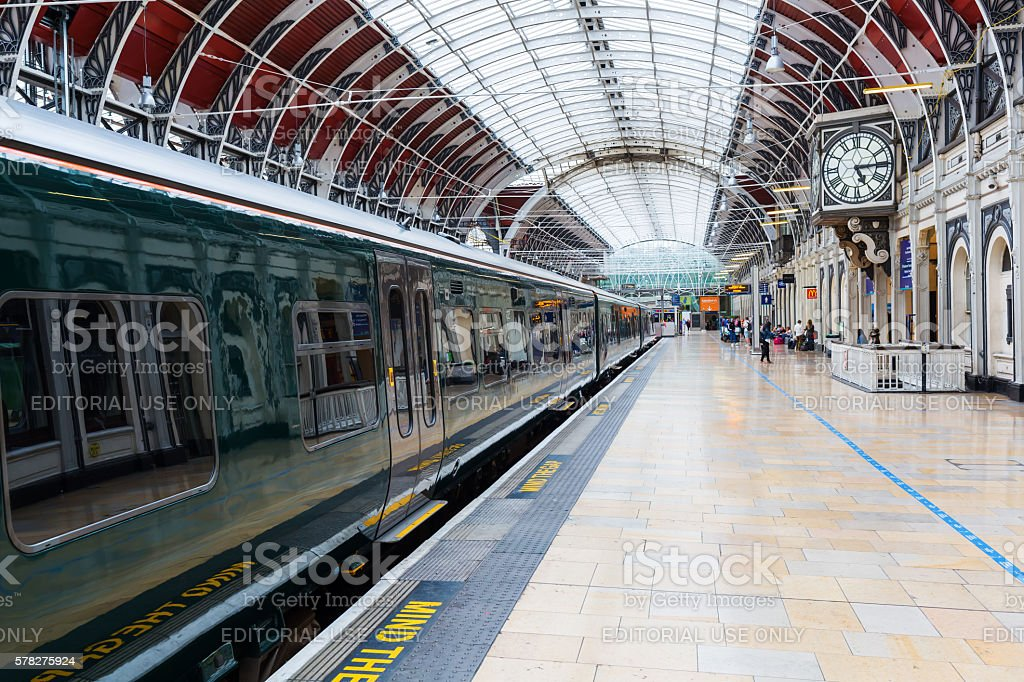 London Paddington station in London, UK stock photo