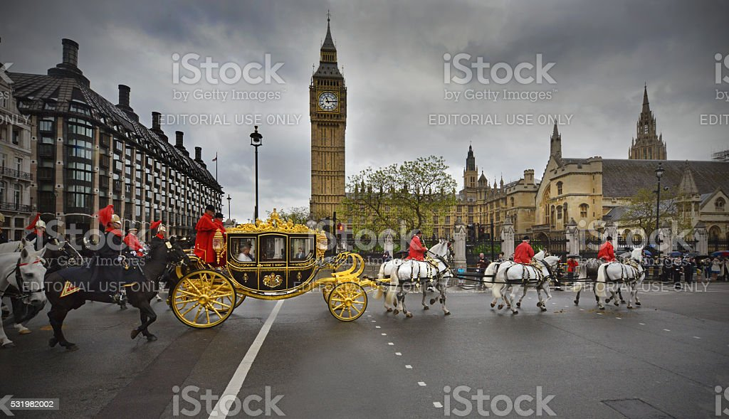London pageantry stock photo