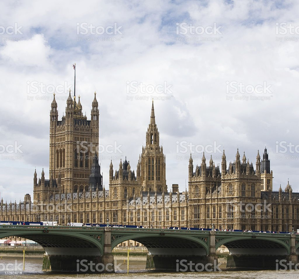 London. Palace of Westminster royalty-free stock photo