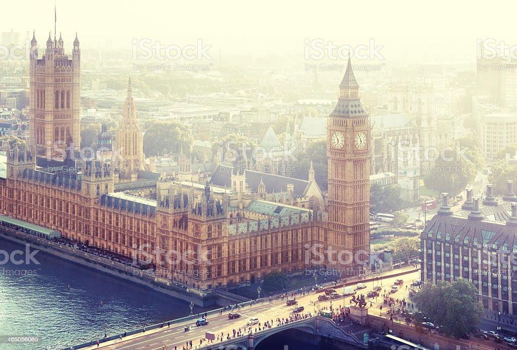 London - Palace of Westminster, UK stock photo