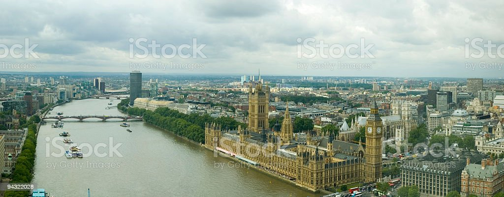 London panorama royalty-free stock photo