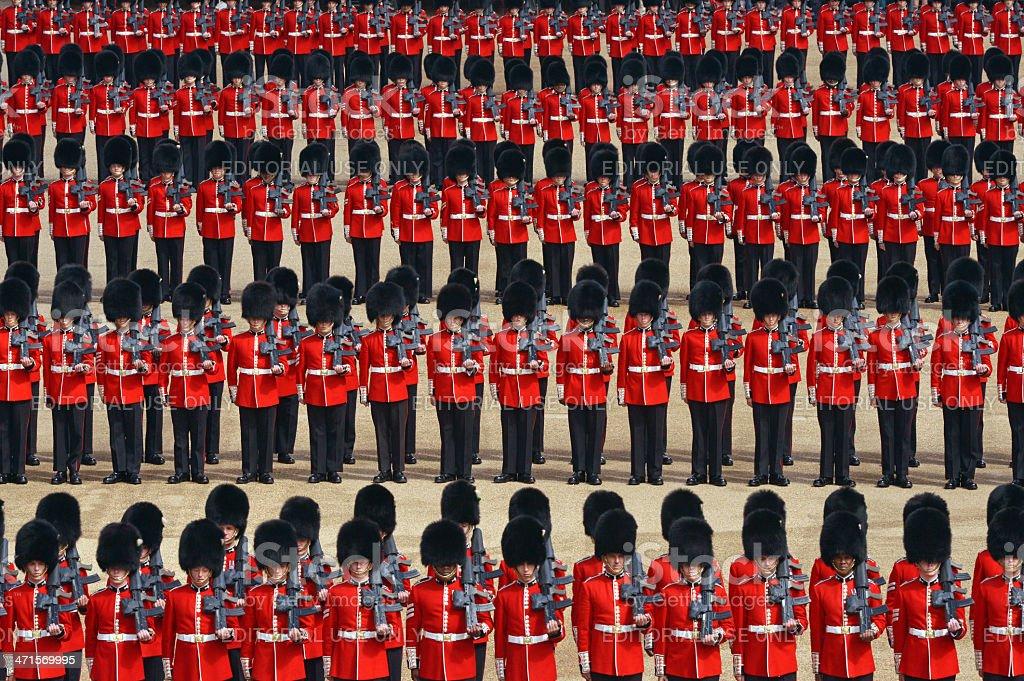 London Parade royalty-free stock photo