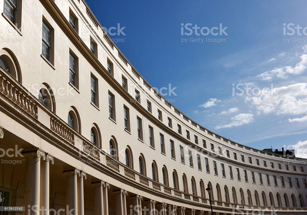 London Park Crescent stock photo