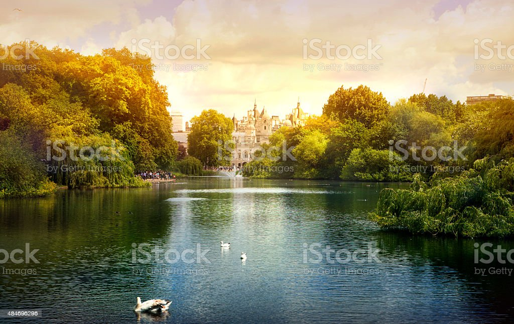 London park, London stock photo